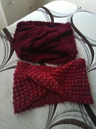 Cuellos (bufanda) calentitos
