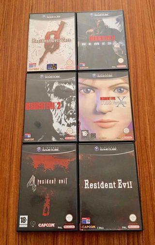Saga Resident Evil Game Cube Pal España