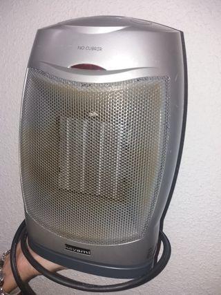 calefactor ceramico oscilante portatil