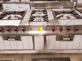 cocina paellera con horno