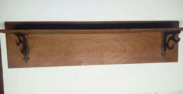 Peana antigua madera