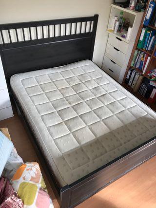 Cama+somier+colchón