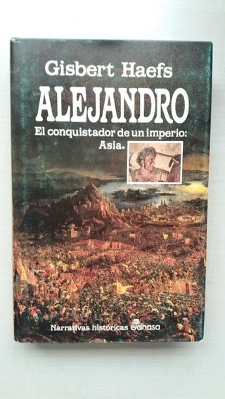 Libro Alejandro. Gisbert Haefs.