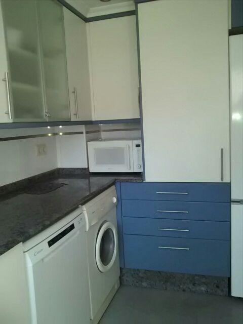 cocina muebles y horno