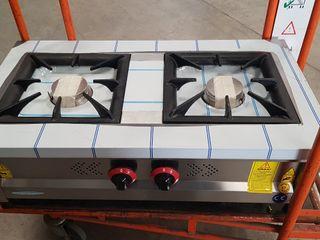 cocina de 2 fuegos