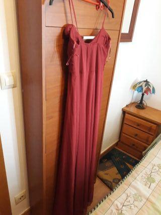 vestido granate talla des una 38 hasta 44
