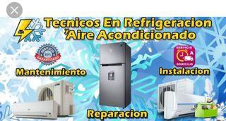 mantenimientos y reparación de aires acondicionado