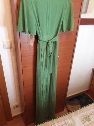 vestido verde talla 36 vale cómo una 38