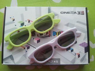 7 gafas para televisión y cine 3D