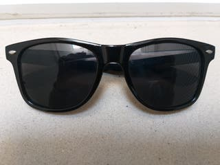 f5c28aee51 Gafas de sol negras estilo Rayban Wayfarer clásica