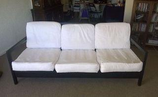 Sofá 3 plazas Lillberg tapizeria blanca