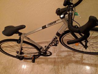 bici B'twin carretera triban rc100 nueva