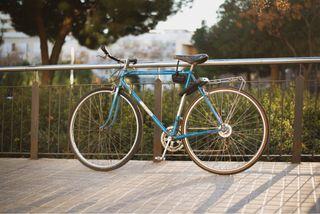 Retro City Bike With Quality Lock