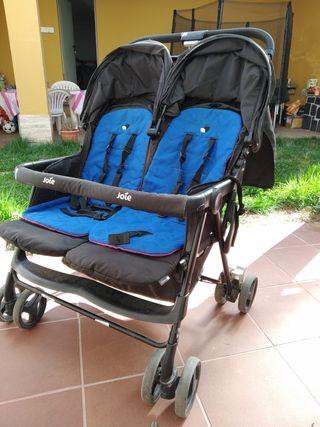 Carro gemelar twin Joie+bolsa Skip Hope+sacos