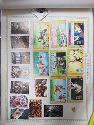 sellos extranjeros albun