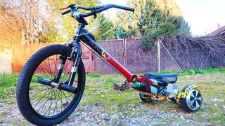 Trike Electrico Adulto Bicicleta BMX + Hoverboard