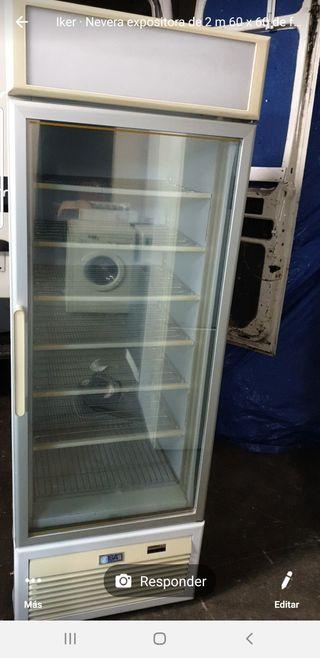 congelador vertical de 196 x 66 x 68