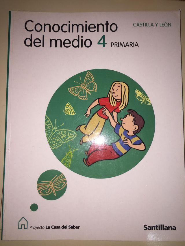 Libro de CONOCIMIENTO DEL MEDIO 4 de Primaria de segunda mano por 1 ...