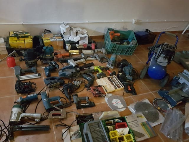 herramientas carpinteria