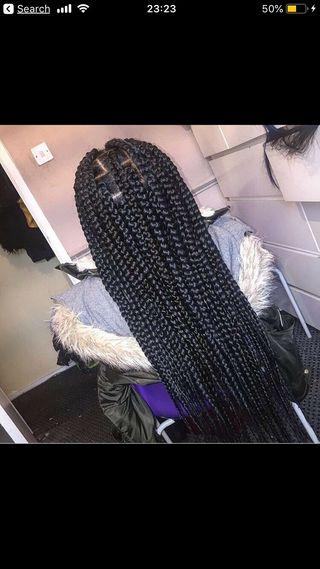 Afro Caribbean mobile hairdresser