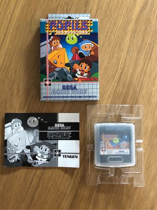PUPILS JUEGO PARA SEGA GAME GEAR COMPLETO