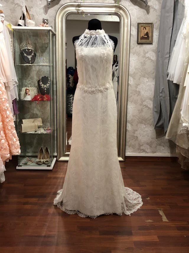 vestido novia alquiler de segunda mano por 150 € en barcelona en