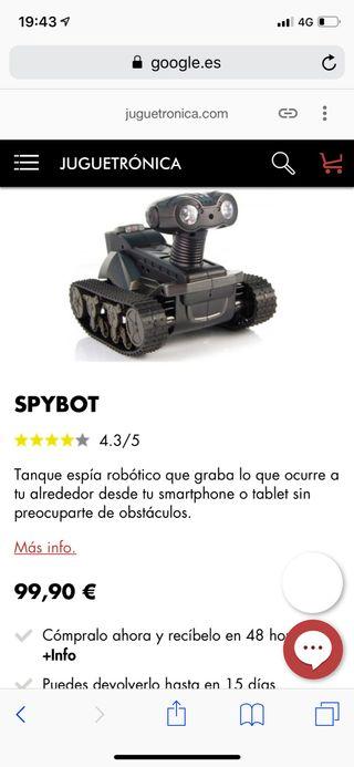 drone robot espia
