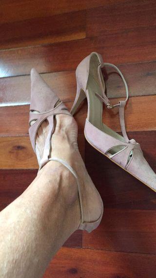 zapatos antelina de segunda mano en la provincia de cantabria en