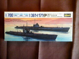 Maqueta de Submarino Japones II Guerra Mundial.