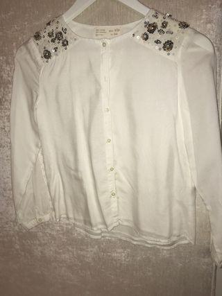 Camisa Zara girls talla 9
