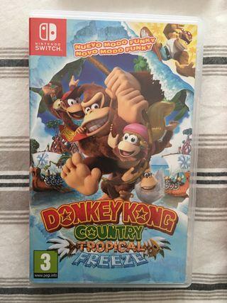 Donkey Kong Tropical Freeze de Nintendo Switch