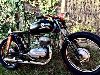 Cafe racer Bultaco de 1963