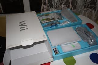 Wii SIN ESTRENAR con todos los complementos