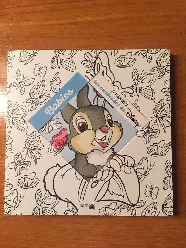 Arteterapia Disney Babies Colorear Libro Mandalas De Segunda Mano