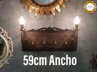 Perchero Único Barroco 59cm Ancho Authentic