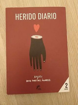 """Libro """"Herido diario"""""""