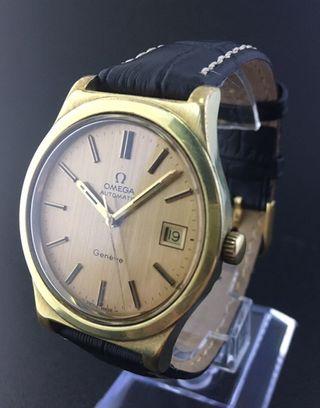 Reloj Omega Automático chapado en oro