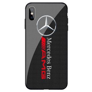Funda Mercedes iPhone de silicona o de cristal
