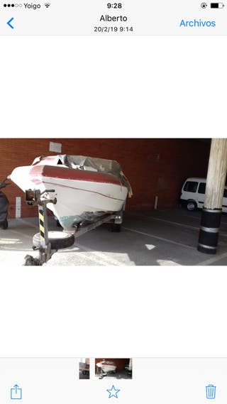 Barco y remolque , precio negociable