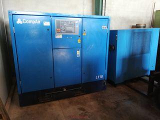 compresor Compair L110 - CASTERAS