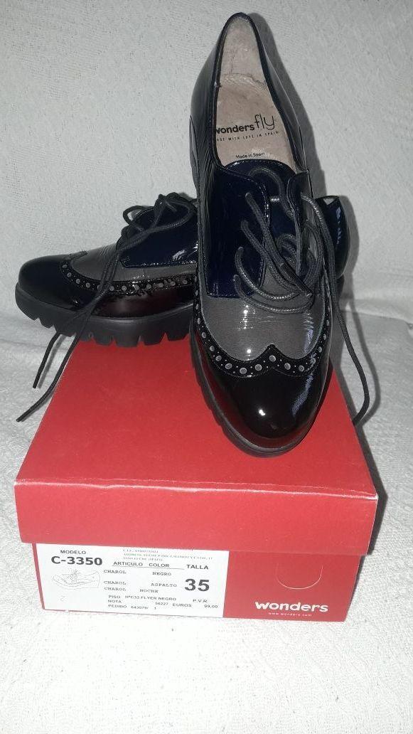 b9c10c231ba Zapatos wonders fly de segunda mano por 30 € en Las Villas de Nuevo ...