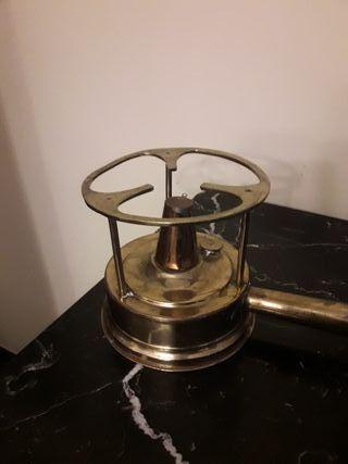 calentador copas bronce