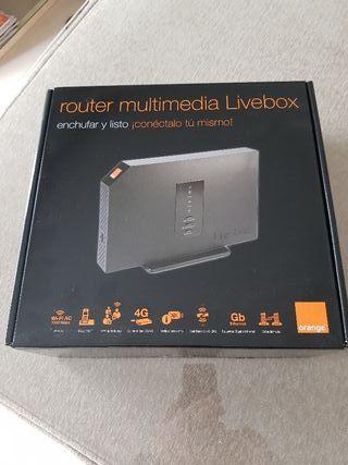 Router Livebox 2 nuevo en caja. Sin usar.