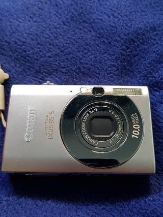 cámara de fotos canon digital ixus8515