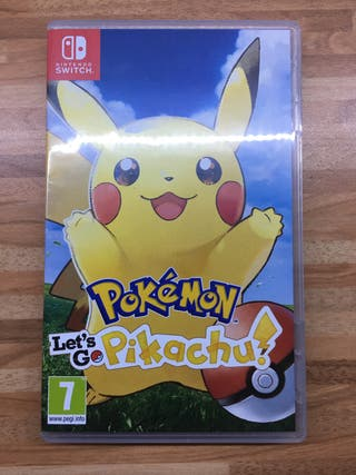 Pokemon Let'go Pikachu Nintendo Switch
