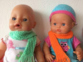 Bufanda muñeca Nancy, Baby Born