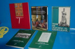Lote 5 libros SOBRE ARAGON-ZARAGOZA E HISPANIA