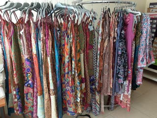 Lote ropa hippie