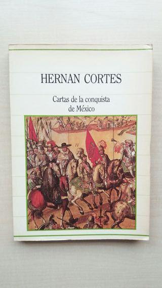 Libro Cartas de la conquista de México. Cortés