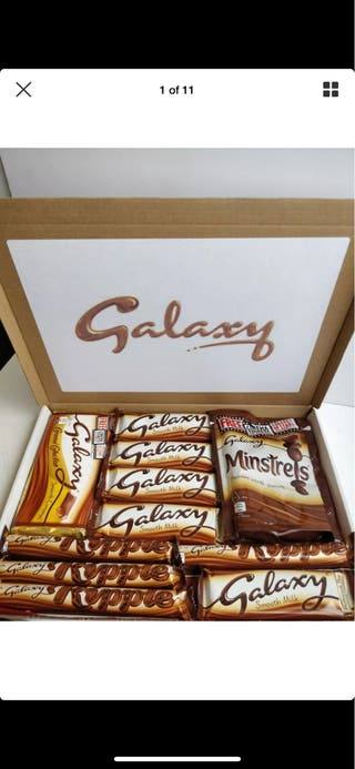 LARGE GALAXY CHOCOLATE GIFT HAMPER!
